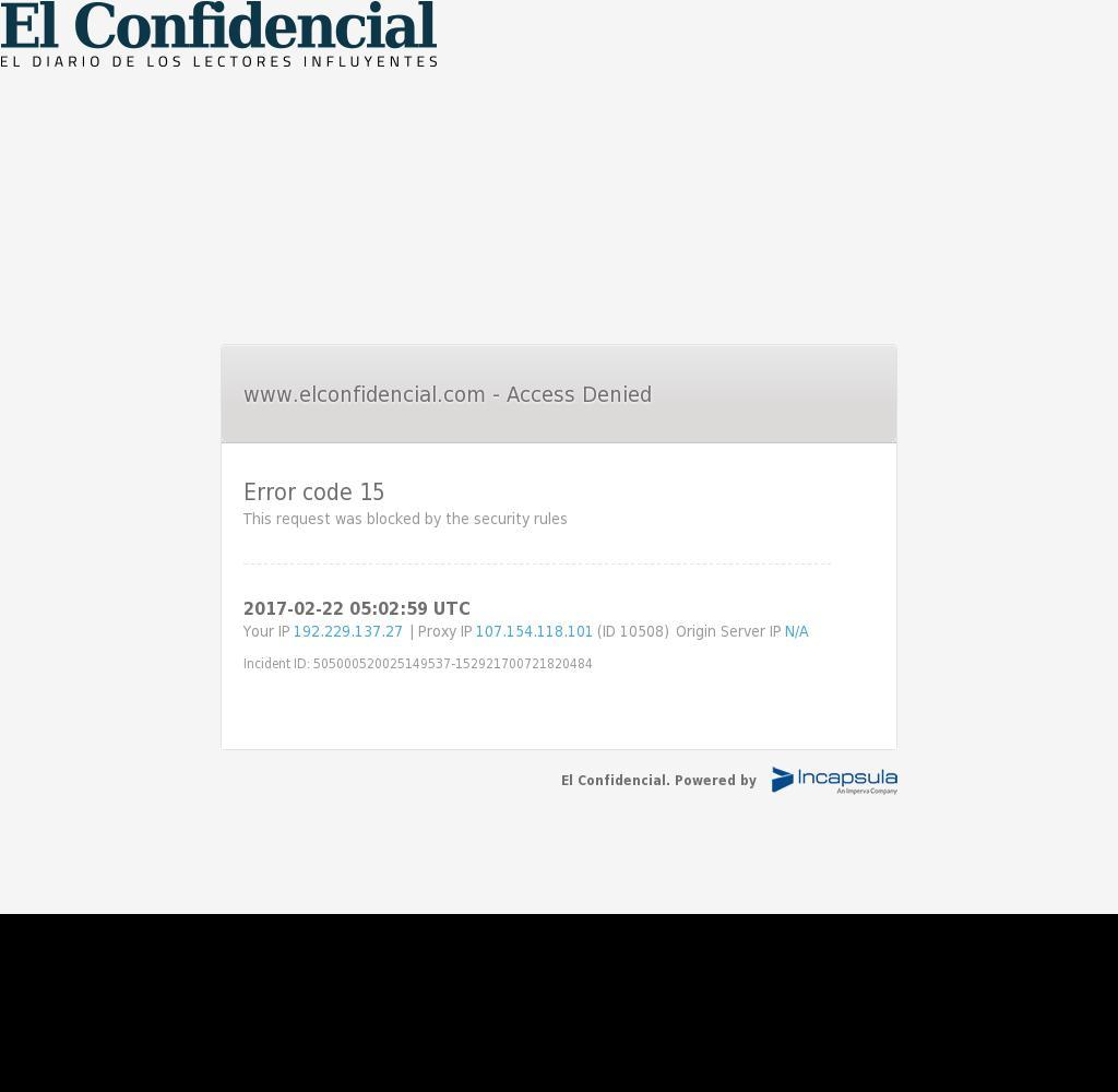 El Confidencial