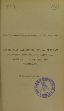Cover of: The Russian Carboniferous and Permian compared with those of India and America | Charles Schuchert
