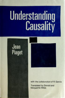 Explications causales by Jean Piaget